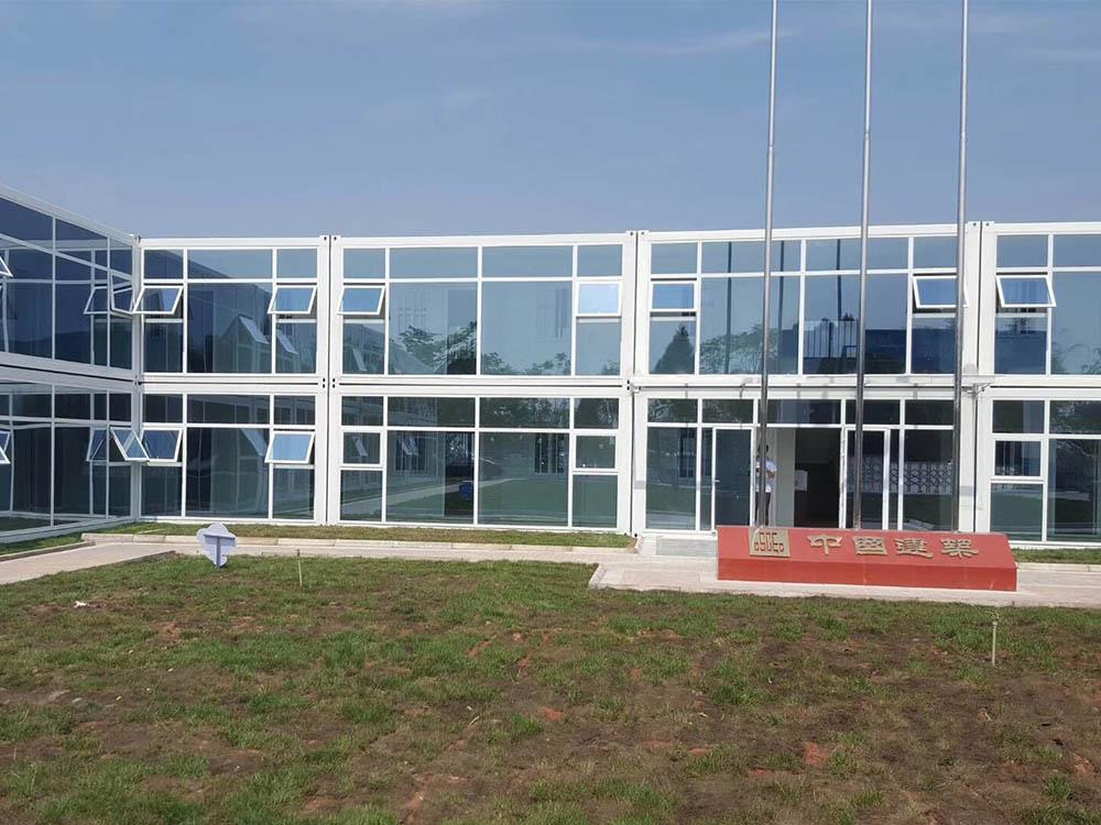 打包箱(幕墙)办公楼