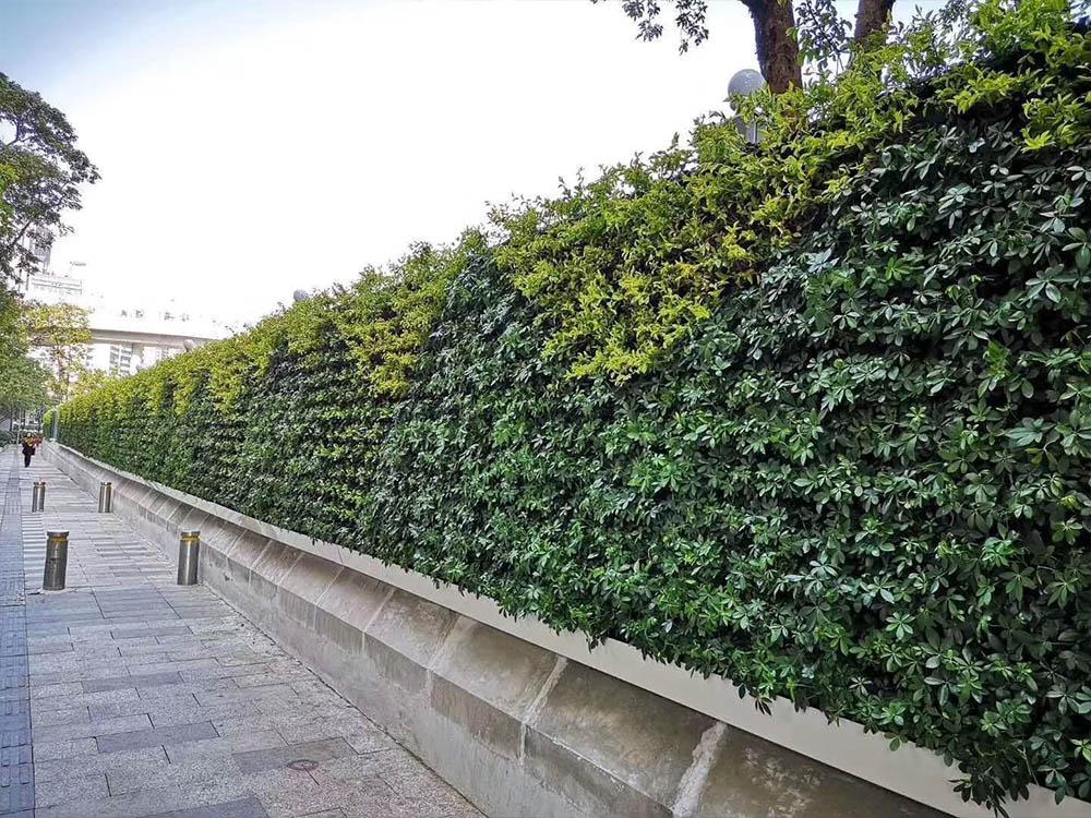 生态绿植围挡