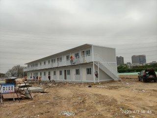 广州市公路工程公司打包箱房宿舍